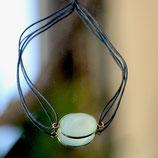 Bracelet fil Aigue marine