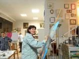 Kunst- Malen am Donnerstagnachmittag