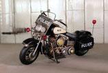 Metall - Motorrad - Police