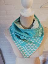 Kinder sjaal met drukknoopjes