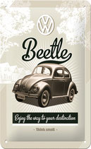 VW Beetle Think small