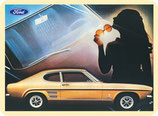 Ford Capri gold