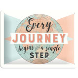 Every Journey first Step