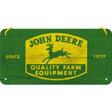 John Deere Logo gelb