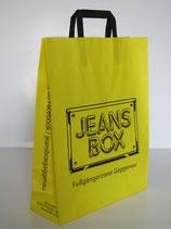 Papiertaschen mit gefaltetem Papiergriff, verfügbare Formate und Gößen