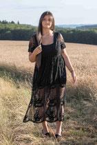 Partly transparent Dress