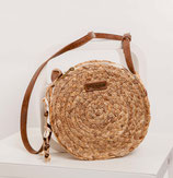 round Shoulderbag with zipper