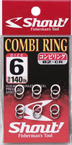 COMBI RING SHOUT!  MADE IN JAPAN!!