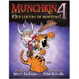 MUNCHKIN 4 - ¡QUE LOCURA DE MONTURA!