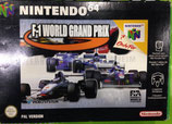 Juego F-1 World Grand Prix para Nintendo 64 (N64)