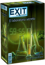 EXIT 3 - EL LABORATORIO SECRETO