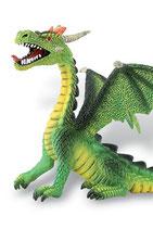 Figura Dragón sentado (verde) 11 cm