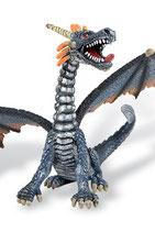 Figura Dragón sentado (azul) 11 cm