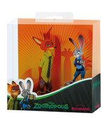 Zootropia/Zootropolis Pack de 2 Minifiguras Nick Wilde & Judy Hopps 8-10cm