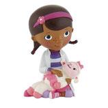 Doctora juguetes Minifigura Doc con Lambie 6cm