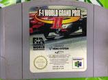Juego F-1 Worlds Grand Prix 2 para Nintendo 64. Solo cartucho.
