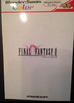 Juego Final Fantasy II para Wonderswan. Nuevo