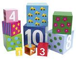 JaBaDaBaDo Stapelwürfel mit Zahlen von 1 bis 10