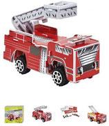 3D Feuerwehr Puzzle mit Rückziehmotor