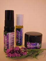 Lavendel: Energiespray, Duft-Roll-On und Balsam