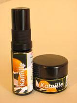 Kamille: Energiespray und Balsam