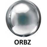 Palloncino Mylar Orbz sferico