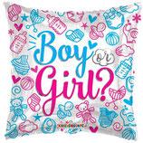 "Palloncino 18"" mylar Baby Boy or Girl?"