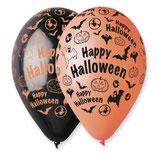 Palloncini  Happy Halloween 100pz