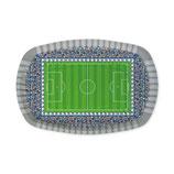 Vassoio rettangolare Stadio Calcio 5pz