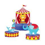 """Centrotavola Circo """"Circus Party"""""""