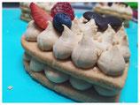tart-cake alle Nocciole del Piemonte personalizzata