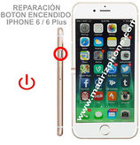 Cambiar / Reparar Boton Encendido APPLE iPHONE 6 / 6 Plus Original