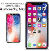 Cambiar / Reparar Pantalla Completa Apple iPHONE Xs Max  Compatible Calidad OLED