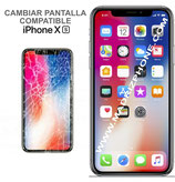 Cambiar Pantalla Completa iPHONE Xs  Compatible