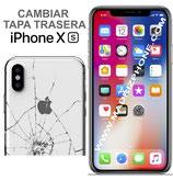 Cambiar Cristal / Tapa Trasera iPHONE Xs