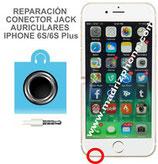 Cambiar / Reparar Conector jack auriculares iPHONE 6s / 6s Plus