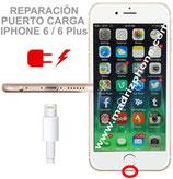 Cambiar / Reparar Conector de carga APPLE iPHONE 6 / 6 Plus