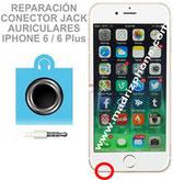 Cambiar / Reparar Conector Jack Auriculares APPLE iPHONE 6 / 6 Plus