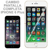 Cambiar / Reparar Pantalla Completa iPHONE 6 Plus Blanco/Negro