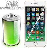 Cambiar Batería iPHONE 6 / 6 Plus