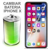 Cambiar Bateria  iPHONE X  (ORIGINAL)