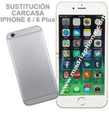 Cambiar / Reemplazo Carcasa / Tapa Trasera iPHONE 6 / 6 Plus Calidad Premium