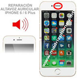 Cambiar / Reparar Altavoz auricular APPLE iPHONE 6 / 6 Plus