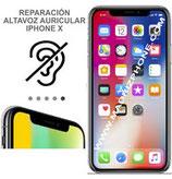 Cambiar / Reparar  Altavoz Superior APPLE iPHONE X  (ORIGINAL)