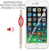 Cambiar / Reparar Boton Volumen APPLE iPHONE 6 / 6 Plus