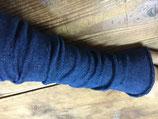 リネンアームグローブ 藍染め (グラデーションなし 1色のみ)
