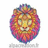 LE LION - PUZZLE EN BOIS