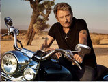 JOHNNY HALLYDAY - KIT BRODERIE DIAMANTS