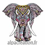 L'ELEPHANT ROSE - PUZZLE EN BOIS