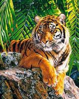 LE TIGRE - KIT BRODERIE DIAMANTS